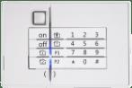 Sicherheitspanel mit Ziffernblock