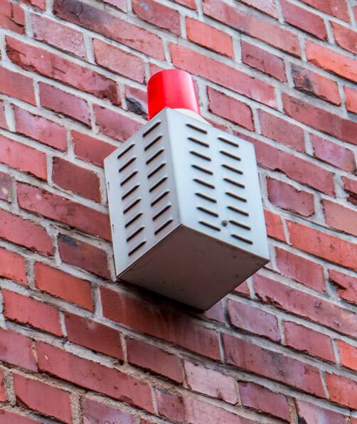 Alarmsicherung am Haus