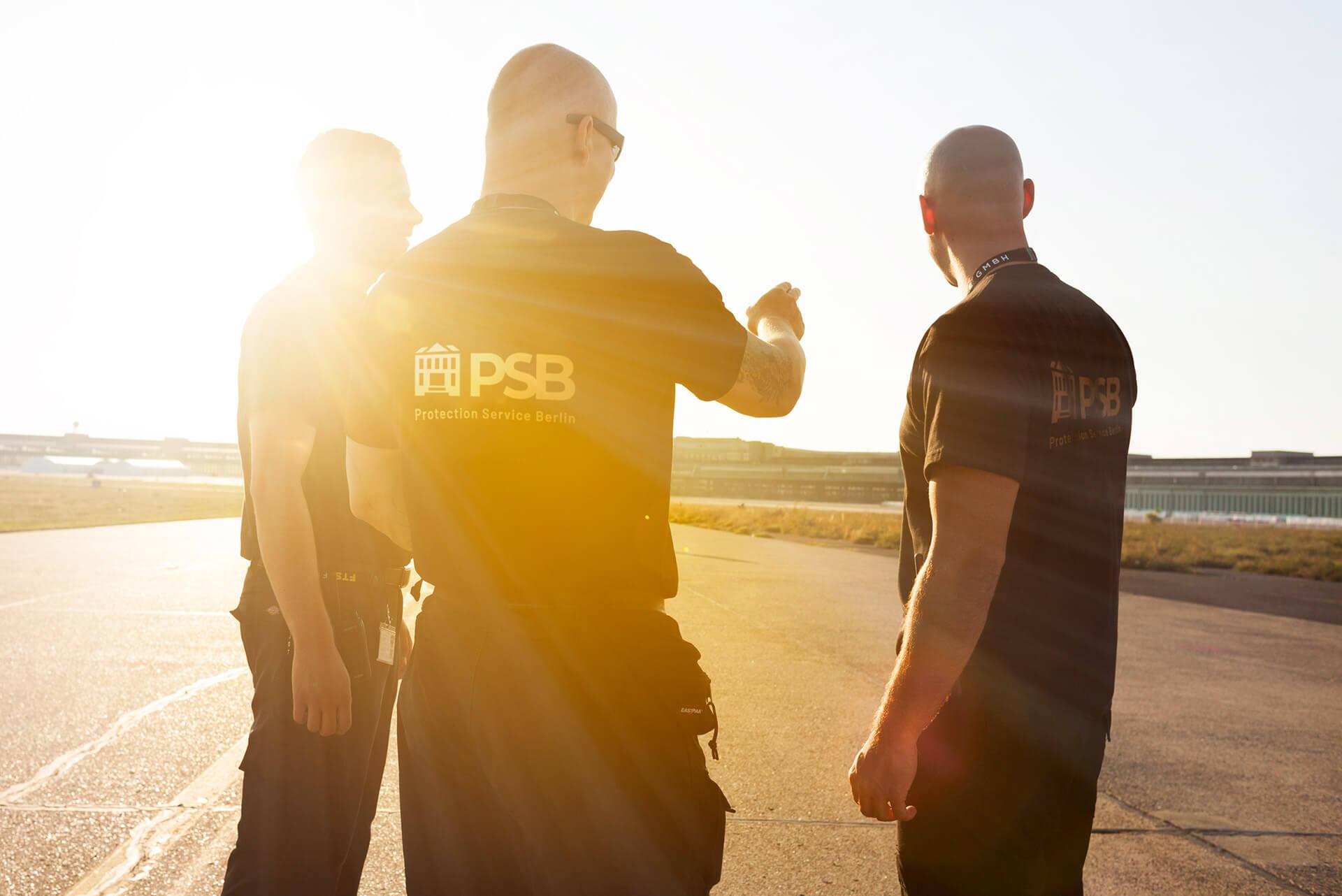 PSB24 Wachschutz in Berlin und Brandenburg - professionelle Bewachung